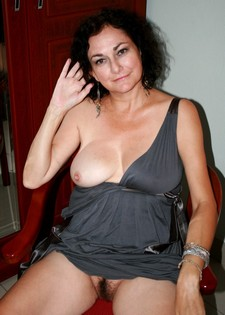 Anna, 50 year old milf slut from South Africa in a blue dress 9.