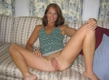 Beautiful wife spreading legs and showing her sweet pussy