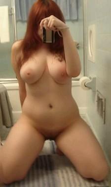 Stunning boobs in a hot girlfriend selfshot photo.