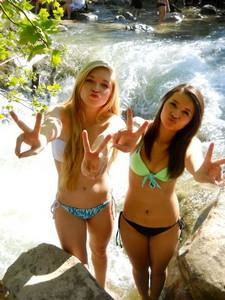 Cute young girls sexy selfshot