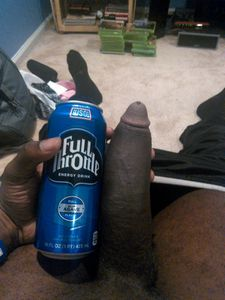 His black dick maybe swollen