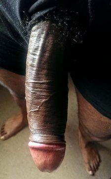 My black dick clothe-up