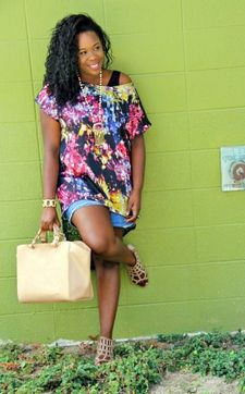 Check her fashion blog with co blogger Sarah at
