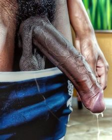 Incredible big black cock just jizzed