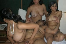 Some indian whores.