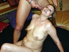 Facialized Granny. Amateur private porn