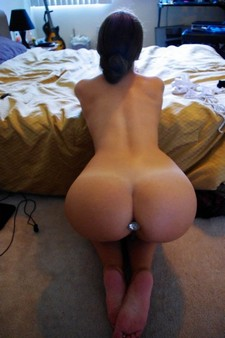 Amazing booty in a hot homemade butt sex picture.