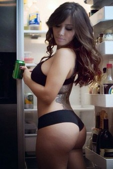 Perfect american sexy girl with beautiful ass