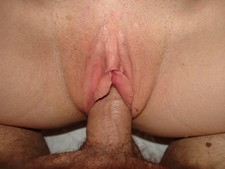 Homemade porn pictures - cock inside wife's pussy