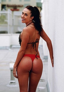 This italian sexy girl in bikini have incredible hot ass awesome big ass and very hot body
