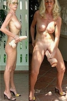 Amazing amateur masturbation pic featuring lovely blonde mature.
