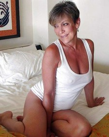 Hot blond mature with beautiful tits pounded hard