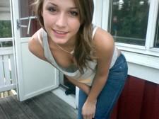 Beautiful teen (18+) in photo.