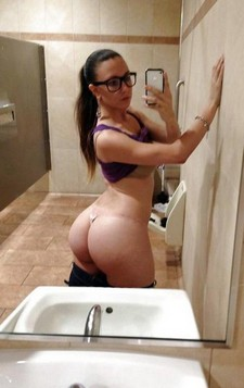 Curvy Big Booty Sexy Hot Chick in Sexy Clothing