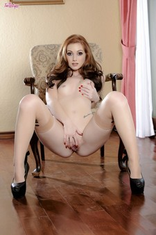 Natalie Lust is a sexy red-head with an amazing body. Shes up for a challenge. Can she..