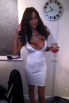 Hot pure mature sexy mom in provocative dress have beautiful real tits