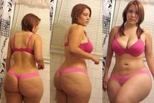 Beautiful Teen Showing Incredible Body in Bathroom - Selfie
