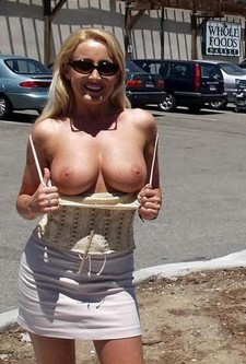Cougar mom stepmom mommy public beach flashing strip striptease voyeur exhibitionist..