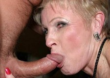 Blonde Betty Granny Loves Sucking Dick