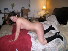 Hot cougar with great tits fucked in pussy and ass