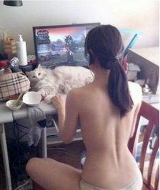 World of Warcraft naked Night Elf