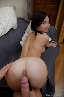 Awesome masturbation clip with a stunning Asian coquette