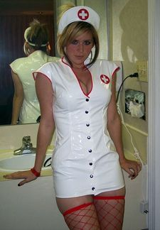 The Naughty Nurse I Want To Come and Take Care of Me!.