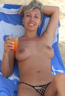 Beautiful Zafira and her partner arrive on the beach when they meet another horny..