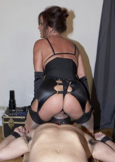 Carolyn Reese, a lifestyler whos new to WhippedAss.com is not getting enough BDSM at..