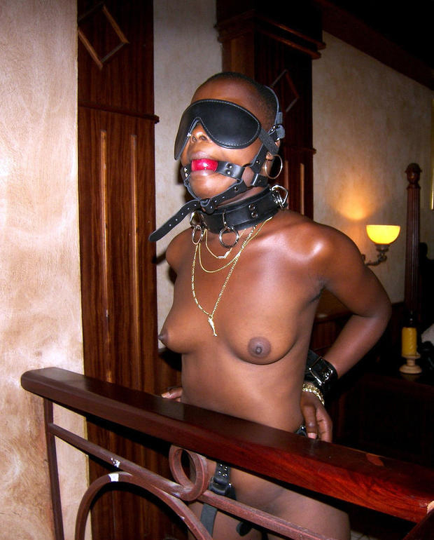 Beautiful ebony babe with a chocolate skin stripping for her white bf. She then gets the..