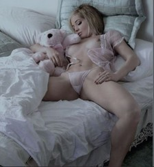 Id say that teddy bear is one happy toy. Sexy redhead cam girl lubed up the dildo..