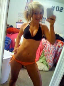 Superb hooters in this awesome amateur selfshot photo.