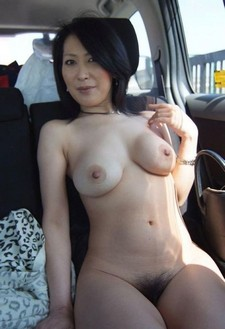 Asian Milf fuck in the car click here