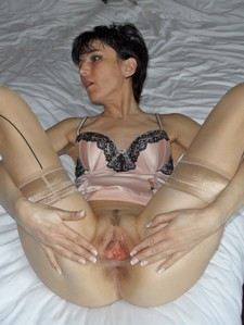 Close-up stretched pussy, open hole, kegel squeeze, open pussy lips, slut